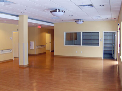 healthcare facility painting
